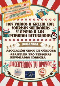"""Cartel proyecto """"Risas Solidarias"""""""