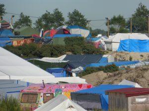 Vista de la Jungla de Calais
