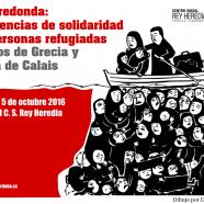 Mesa redonda: experiencias de solidaridad con personas refugiadas