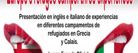 Presentación de experiencias en campos en la Escuela Oficial de Idiomas