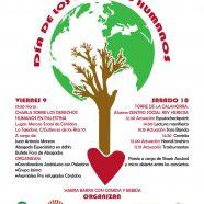 Jornadas 9 y 10 de Diciembre por el Día Internacional de los Derechos Humanos