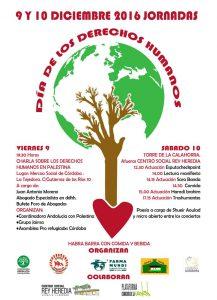 Cartel Jornadas de Celebración del Día Internacional de los Derechos Humanos