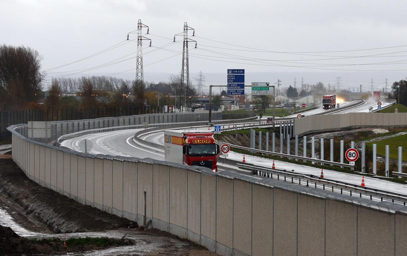 El muro de Calais