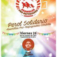 Perol solidario en la feria: viernes 26 en CNT