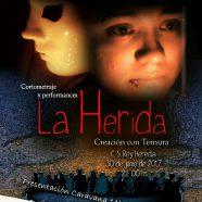 """Proyección del cortometraje """"La Herida"""""""