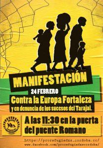 Manifestación sábado 24 de febrero de 2018 a las 11:30 en la puerta del puente