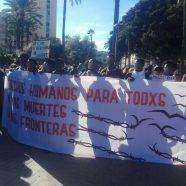 El sábado 3 volvimos a la Playa del Tarajal para reclamar justicia