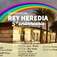V Anivesario del Centro Social Rey Heredia y I Aniversario del Colegio