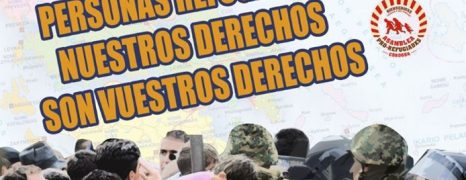[CANCELADA] Concentración contra el trato inhumano y la violencia contra los refugiados en la frontera griega